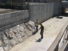 Interventi di sistemazione fluviale a Brescia